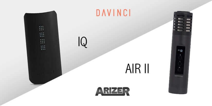 Vaporizer im Vergleich – DaVinci IQ vs. Arizer Air II