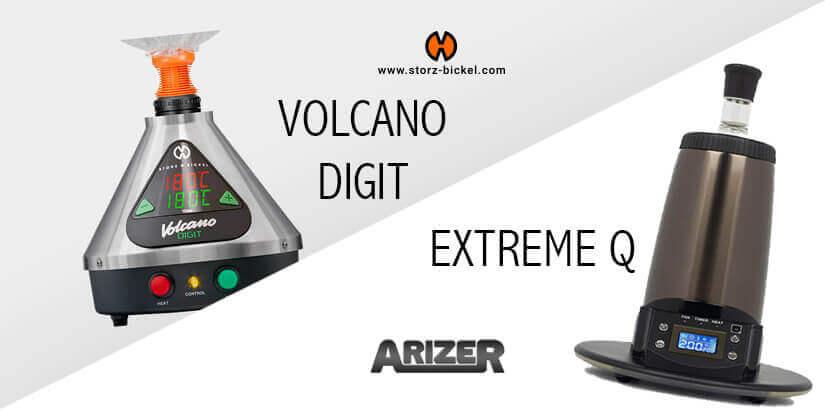 Vaporizer im Vergleich – Volcano vs. Extreme Q