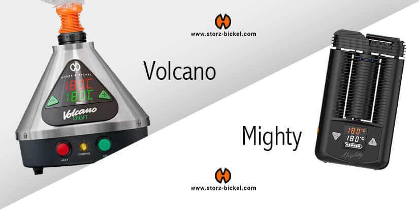 Der Storz & Bickel Vergleich: Mighty und Volcano